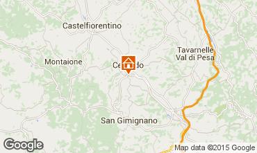 Kaart San Gimignano Appartement 81030