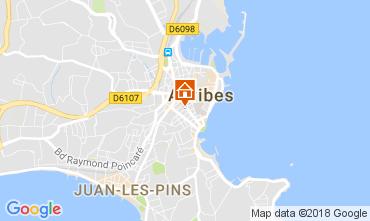 Kaart Antibes Appartement 113217