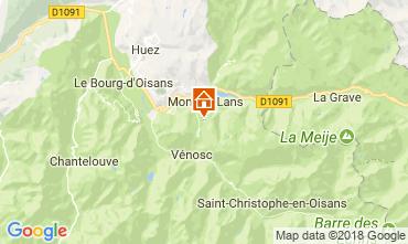Kaart Les 2 Alpes Appartement 101201
