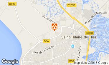 Kaart Saint Hilaire de Riez Huis 68573
