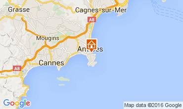 Kaart Antibes Appartement 105595