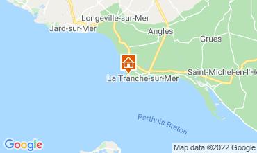 Kaart La Tranche-sur-mer Villa 7127