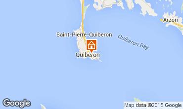 Kaart Quiberon Appartement 31206